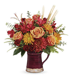 Telelfora's Fields of Fall Bouquet