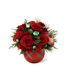 Christmas Ornament Candy Dish