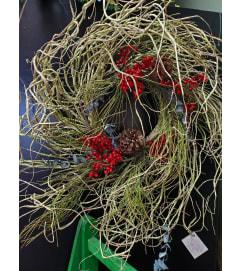 Wild Grass Wreath