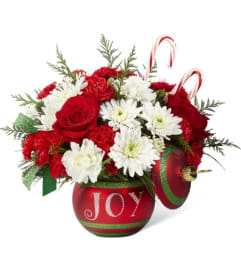 Season's Joyful Greetings Bouquet