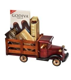 Vintage Chocolate Truck