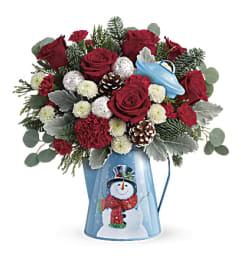 Vintage Frost Enchantment Bouquet