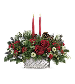 Merry Mercury Centerpiece by Rothe's