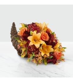 Harvest Cornucopia Thanksgiving