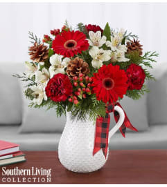HOLIDAY TIDINGS PITCHER
