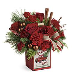 Teleflora's Merry Vintage Christmas