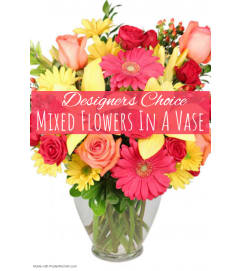 Garden Galore In Vase Florist Design