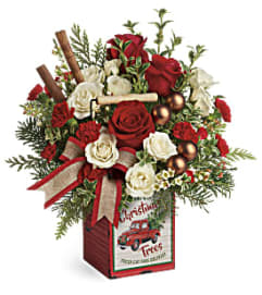 Teleflora Quaint Christmas Bouquet