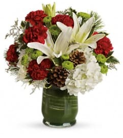 Teleflora's Christmas Collage Bouquet