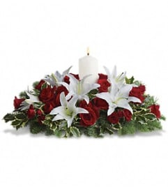 Teleflora Luminous Lilies Centerpiece