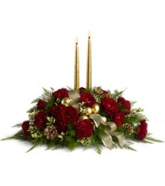Teleflora Crimson and Candlelight
