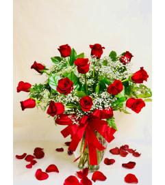 Premium Red Dozen Roses
