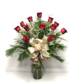 Christmas Roses 1 dozen