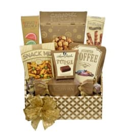 Gourmet Snacker Basket by Saksco Gifts