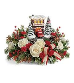 Teleflora Thomas Kinkade Hero's Holiday