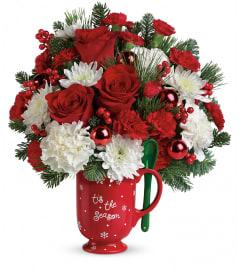 TF Merry Mug Bouquet