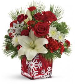 TF Snowflake Wonder Bouquet
