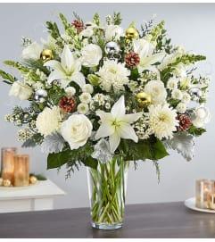 The Dazzling Winter Wonderland Flower Arrangement