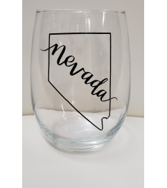 Nevada Wine Glass
