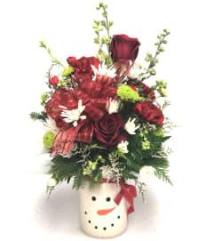 Christmas Mug Bouquet