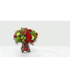 THE FTD JINGLE BELLS CHRISTMAS ARRANGEMENT