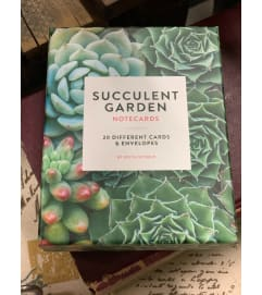 Succulent Notecards