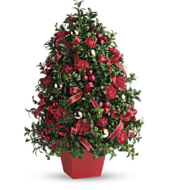 The Teleflora Deck The Halls Tree