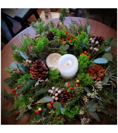 Holiday Table Wreath