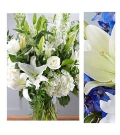Blue Mix-Large Vase Arrangement
