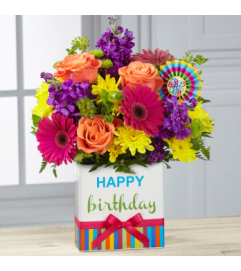 Happy Birthday Brights Bouquet