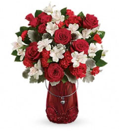 THE RED HAUTE ROSE BOUQUET
