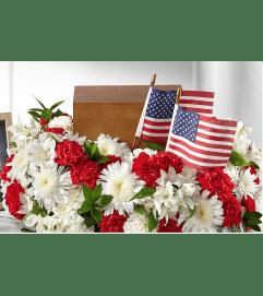Spirit Of Patriotism Cremation Adornment