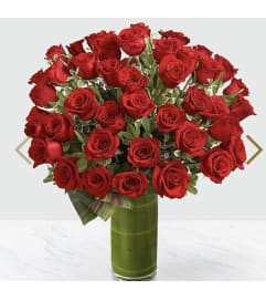 48 Red Rose Bouquet