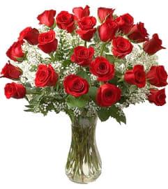 Twenty-Four Red Roses