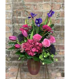 Raspberry and Purples