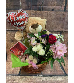 Valentine Combo Basket