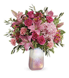 Teleflora Blushing Gemstone Bouquet