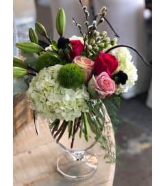 Floral cluster of love