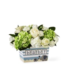 Darling Baby Boy Bouquet by FTD
