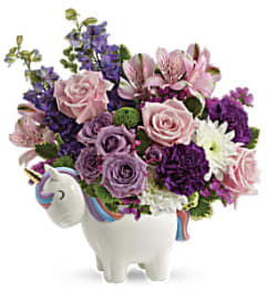 The Teleflora Magical Mood Unicorn