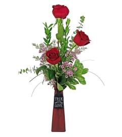 True Love-Bud Vase