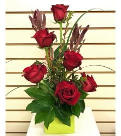 Modern Rose Arrangement