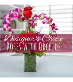 Roses + Orchids Florist Design