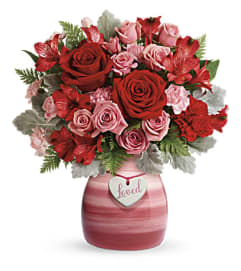 TF Playfully Pink bouquet