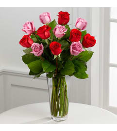The True Romance Rose Bouquet FTD