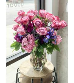 Dozens of Lavender Roses @ Charming