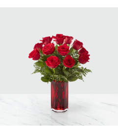 FTD's True Romantic Red Rose Bouquet by tcg