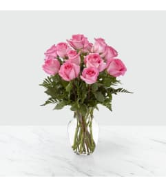 FTD's Smitten Pink Rose Bouquet by tcg