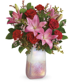 Teleflora's Pretty in Quartz Bouquet by tcg