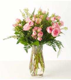 Spray Roses-Pink